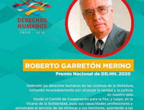 Abogado Roberto Garretón recibió el Premio Nacional de Derechos Humanos 2020 Sobrescribir enlaces de ayuda a la navegación