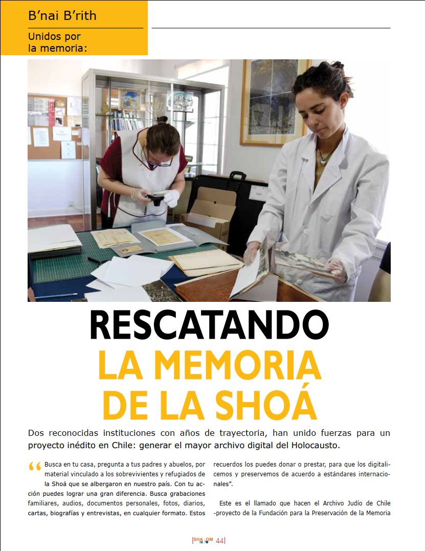 Revista Shalom sept 2020 pag 44