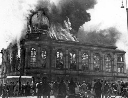 A 82 años de la Noche de los Cristales Rotos (Kristallnacht)