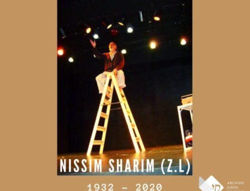 A Nissim Sharim (Z.L.)