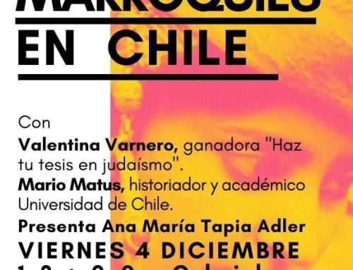 """Charla: """"Judíos marroquíes en Chile"""""""
