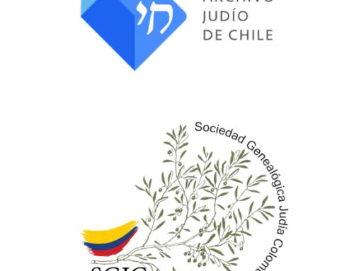 Convenio de colaboración entre la Fundación para la Preservación del Judaísmo Chileno y la Sociedad Genealógica Judía Colombiana (SGJC)