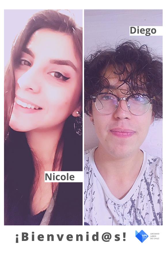 ¡Bienvenides Nicole Diamante y Diego Araya!