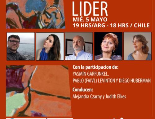 EI MIT LIDER | 5 mayo | 19hs 🇦🇷 – 18 hrs Chile
