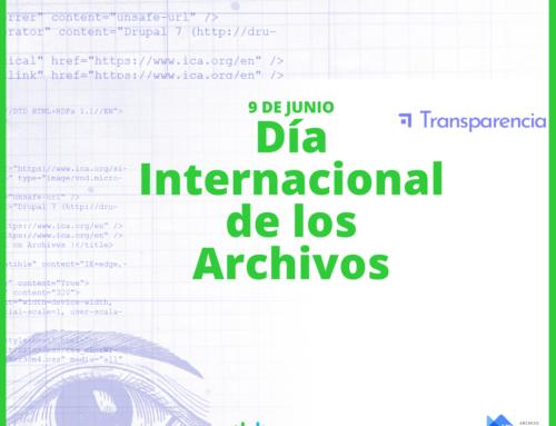 9 de junio: Día Internacional de los Archivos.